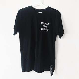 Black tshirt - Mischiev