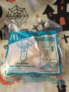 Melody 麥當勞開心樂園餐玩具