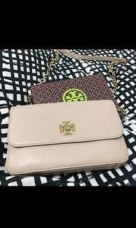 🚚 Tory Burch Emerson chain wallet #47386