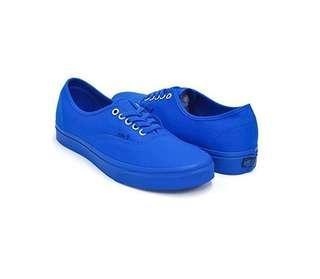 Vans Authentic (Primary Mono) Imperial Blue