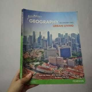 Buku pelajaran geografi smp