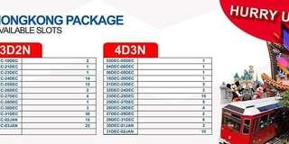 HONGKONG ALL-IN TOUR PACKAGE CHRISTMAS SALE