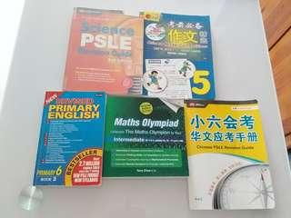 🚚 Primary 5, 6, PSLE Assessment and Guide Books