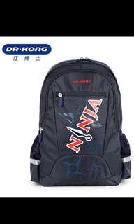 Brand new Authentic Dr Kong Ergonomic Ninja School Bag for primary 3 onwards