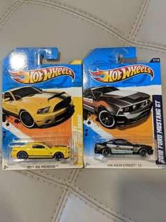Hotwheels Ford Mustang Shelby