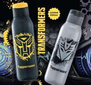 Transformer Tupperware Eco Bottle