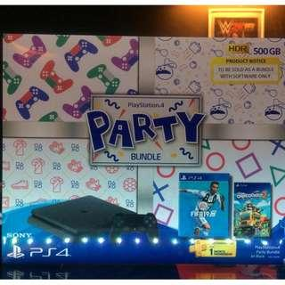 PS4 PARTY BUNDLE * READY STOCK*
