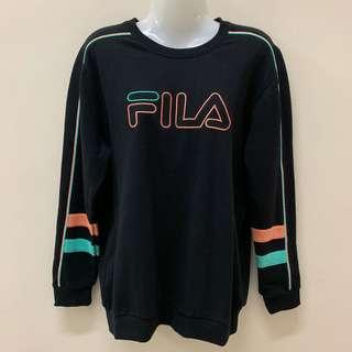 Preloved FILA Sweatshirt Stripe Crew