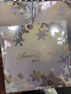 Shiseido snow beauty 資生堂雪花蜜粉餅