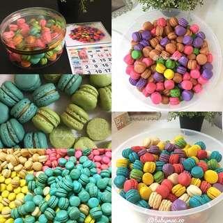 Baby Mac Cookies / Mini macaron