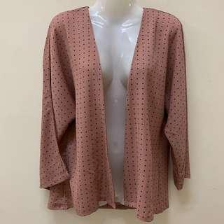 New MC Vogue Cardigan Flare Sleeve Polkadot