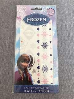Frozen 紋身貼紙(包郵)