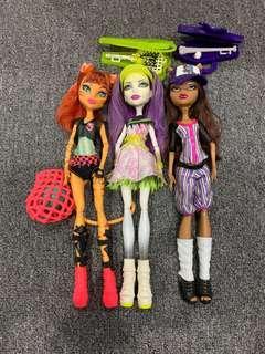 Monster High Dolls ghouls sport