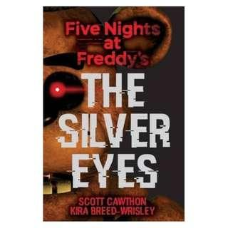@(Brand New) Five Nights at Freddy's The Silver Eyes By: Scott Cawthon, Kira Breed-Wrisley (Illustrator)   [Paperback]