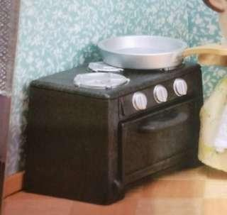 Sylvanian Families Stove From Kitchen Set