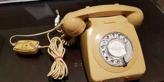 Vintage rotary phone from the UK