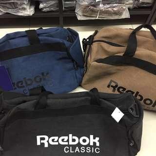 Reeboks travel bag