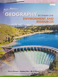 Secondary 1 Geography Textbook