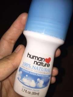 For Sale!!! Human Nature Premium Deodorant Roll On (Powder Fresh)