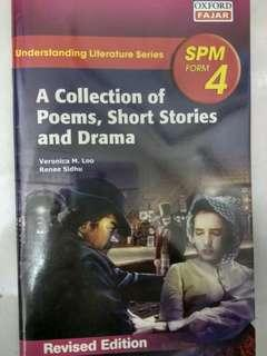 A collection of poems,short stories and drama form 4