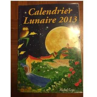 Calendrier Lunaire 2013