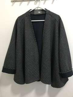 韓國製千鳥格紋外套