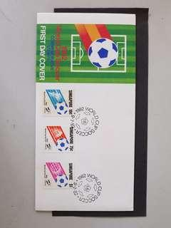 1982 world cup soccer first day cover