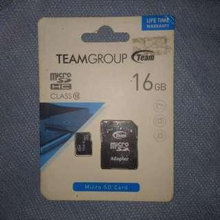 SD CARD 16GB bought from octagon (SEALED)