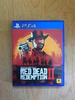 PS4 Red Dead Redemption 2 Code Unredeem