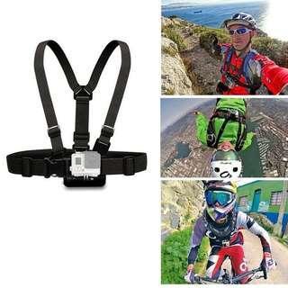 Hot Gopro Aksesoris Adjustable Dada Tubuh Harness Belt Strap