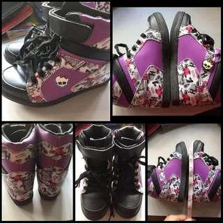 Monster High Hicut Shoes