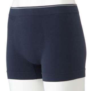 全新 日本帶回 無印良品 拳擊內褲 純棉內褲