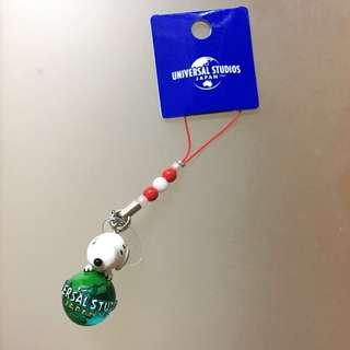 Snoopy 電話繩、掛飾,日本環球影城直送,郵順另加、順豐到付、面交(請看個人簡介)