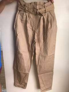 Bershka brown trousers/pant trousers