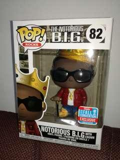 Funko Pop Notorious B.I.G. with crown Exclusive