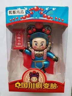 Traditional Chinese Sichuan Opera Face Changing Anti Stress Doll