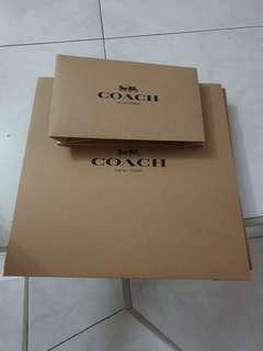 Coach empty boxes 3