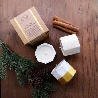 🚚 #008 Christmas Edition Concrete Candle - Home For The Holidays