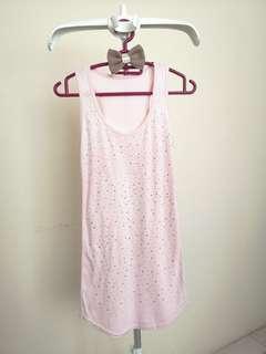 Pink Bling Singlet
