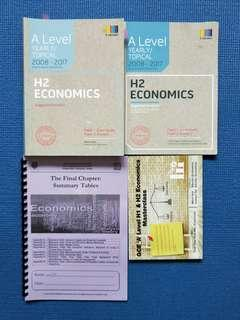 H2 Econs notes textbooks a levels TYS guidebook clearance