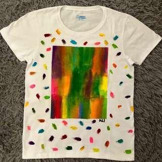 Handpainted unisex shirt