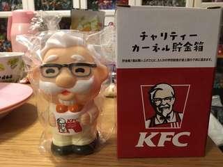 日本KFC 限定 基德基伯伯錢箱
