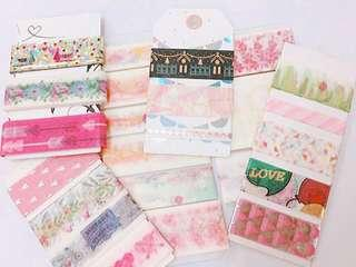 Washi Tape Samples Collection