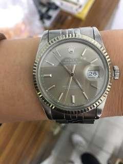 Rolex 16014原裝灰面配原裝五珠帶、淨表、已抹油、