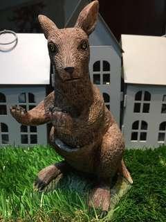 Kangaroo Sculpture Polymer Clay Resin