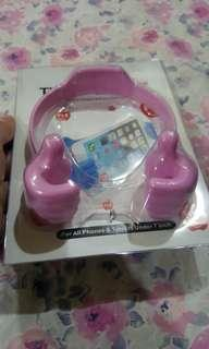 Thumb cellphone stand