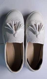 韓國白色休閒鞋