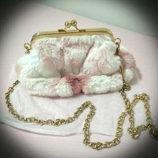 Small Fur Sling Bag