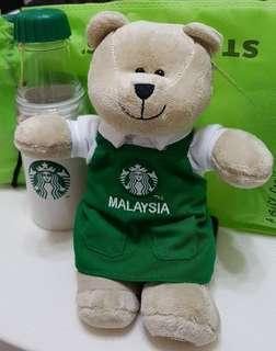 StarBucks bear & milk bottle