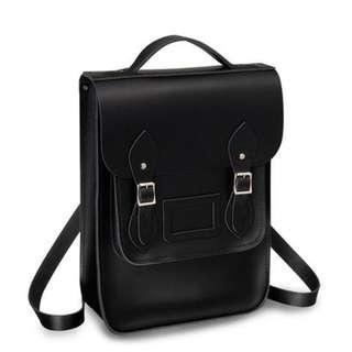 🚚 Cambridge Satchel Company/劍橋包 真皮後背包